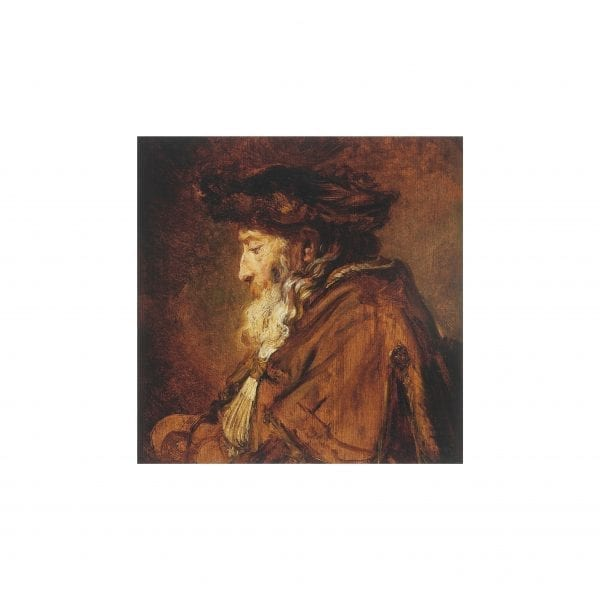 Postcard Portrait of an Old Man