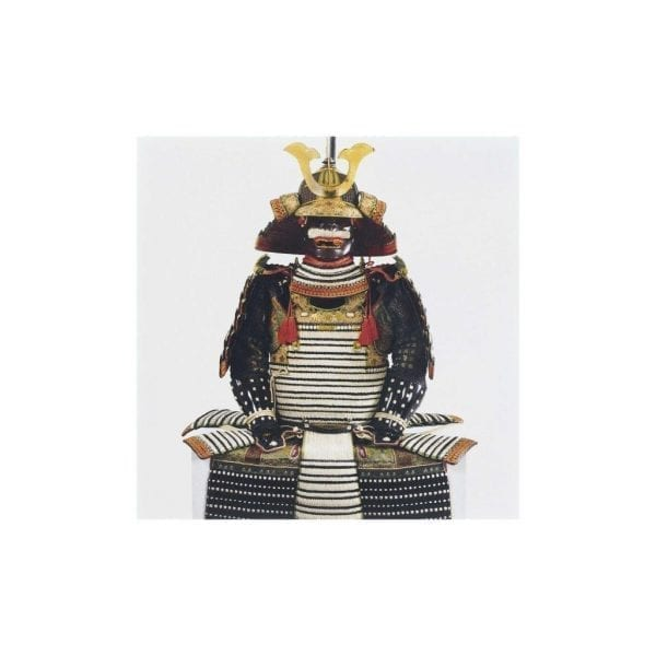 Postcard Armour bearing the Shishido family arms
