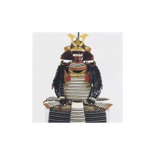 Postcard Armour bearing the Shishido family arms