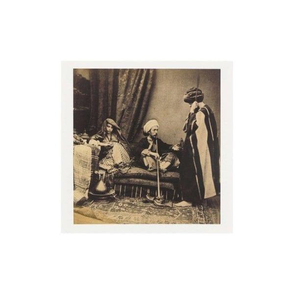 Postcard Pasha and Bedouin