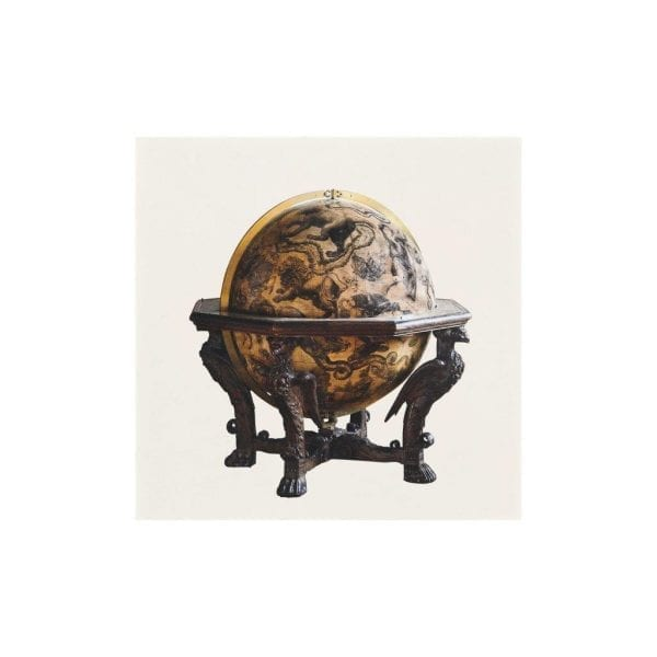 Postcard Engraved celestial globe