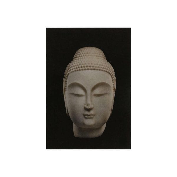 Postcard Head of Buddha