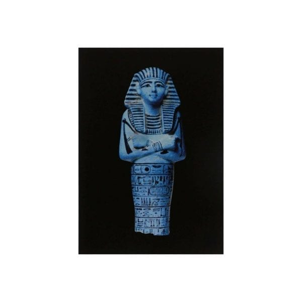 Postcard Funerary figurineor Shabti of Sety