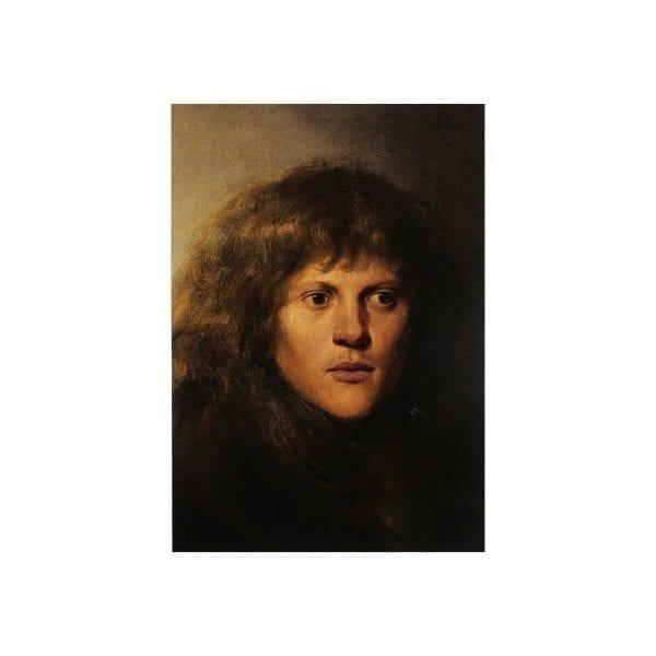 Postcard Self-Portrait