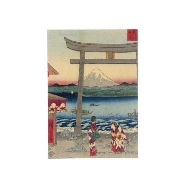 Postcard Shoshu Enoshima iriguchi
