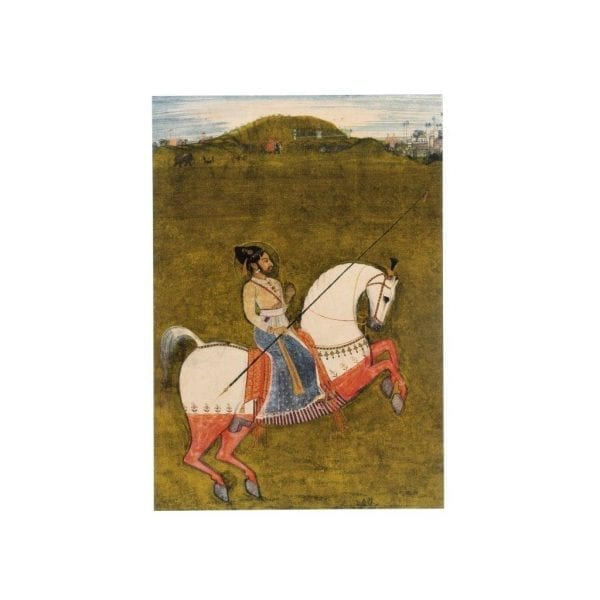 Postcard Maharana Ari Singh II of Mewar