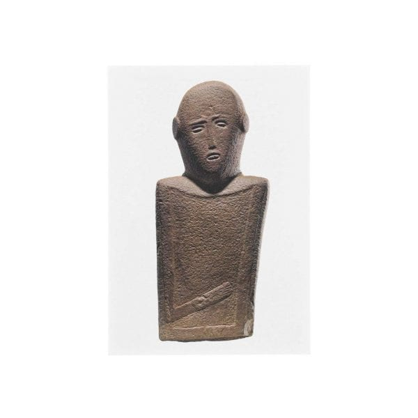Postcard Anthropomorphic stele