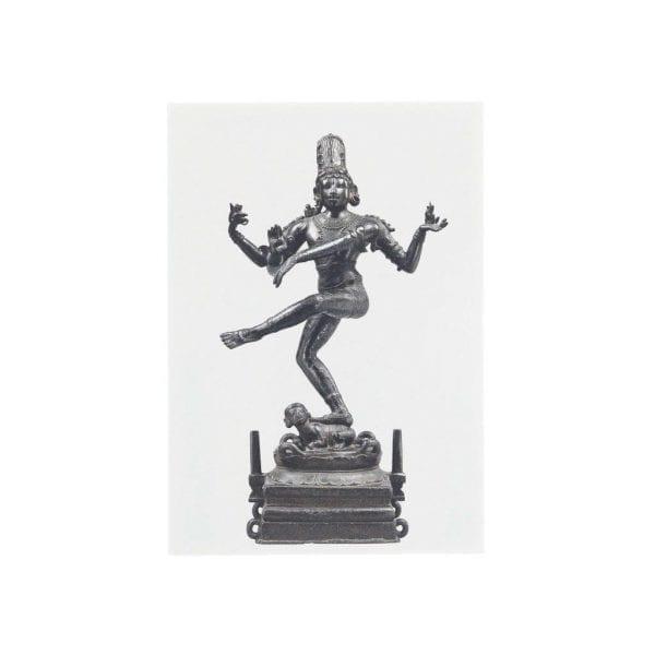 Postcard Shiva Dancing