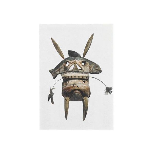 Postcard Yuplk Mask