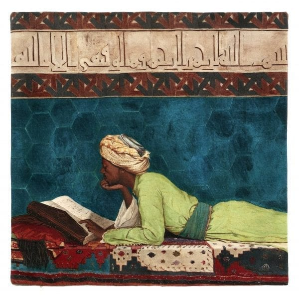 Cushion Cover A Young Emir Studying