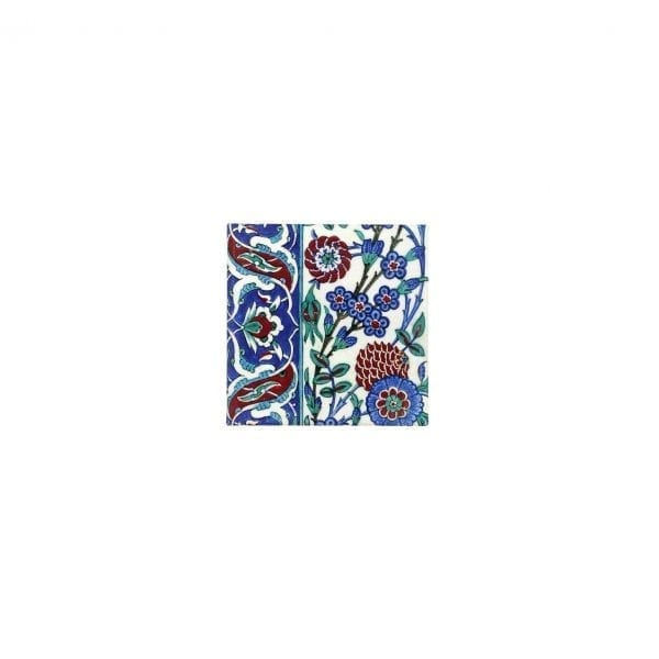 Magnet Tile with plumtree blossoms