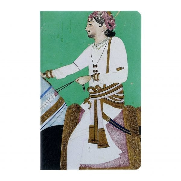 A5 Notebook Equestrian portrait of Maharao Sheodan Singh of Alwar
