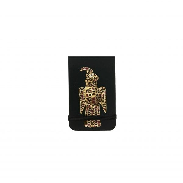 Pocket notebook Eagle-shaped fibula from Domagnano