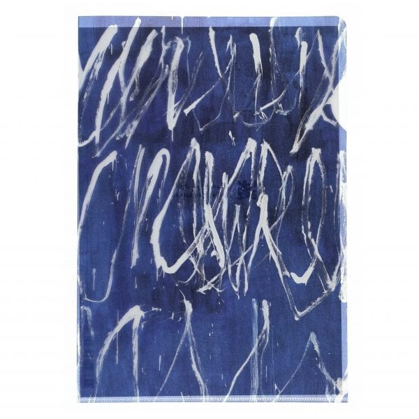 Clear file folder Untitled IV CY Twombly