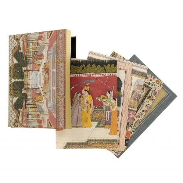 Set of 12 postcards Indian Painting Box