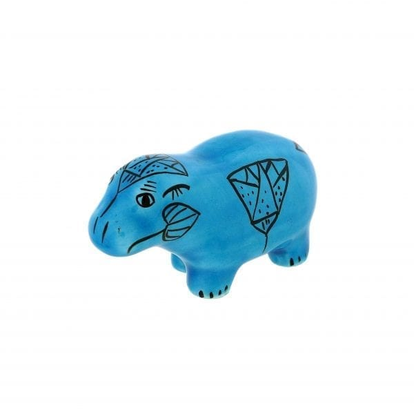 Small Blue Hippopotamus