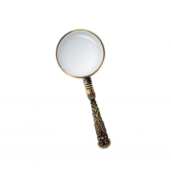 Rocco Magnifying Glass Bronze
