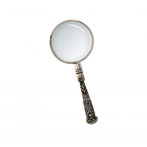 Rocco Magnifying Glass Silver