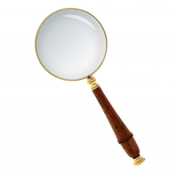 Magnifying Glass Brass