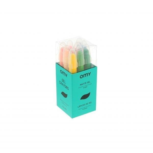 Box of 9 Gel Crayons