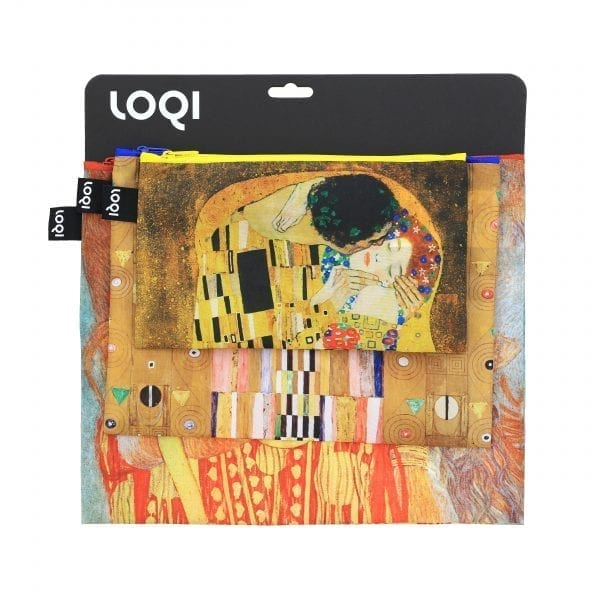 Loqi Zip Pockets. Gustav Klimt - The kiss