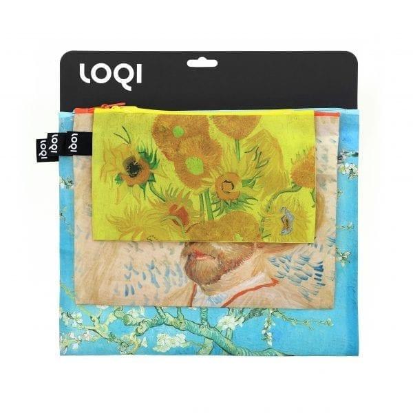 Loqi Zip pockets. Vincent Van Gogh