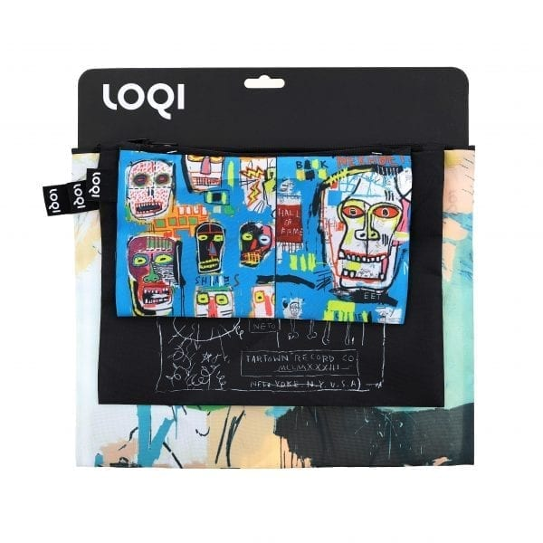 Loqi Zip Pockets Jean-Michel Basquiat