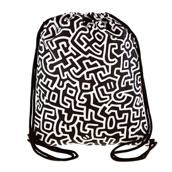 Loqi Backpack. Keith Haring - Untitled