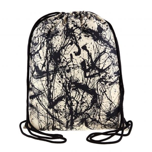 Loqi Backpack. Jackson Pollock - Number 32