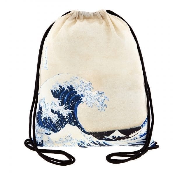 Loqi backpack The great wave