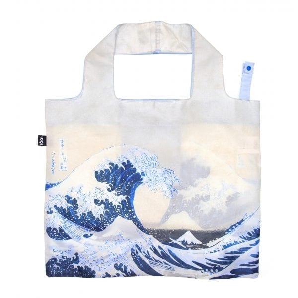 Loqi bag. Hokusai - The great wave