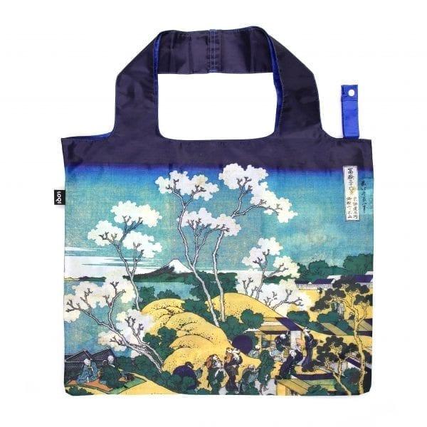 Loqi bag. Hokusai - Fuji from Gotenyama