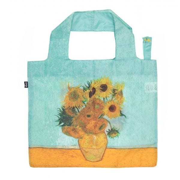Loqi bag Vase with Sunflowers