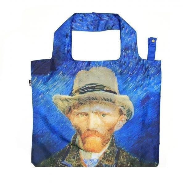 Loqi bag. Vincent Van Gogh - Self-portrait with Grey felt hat