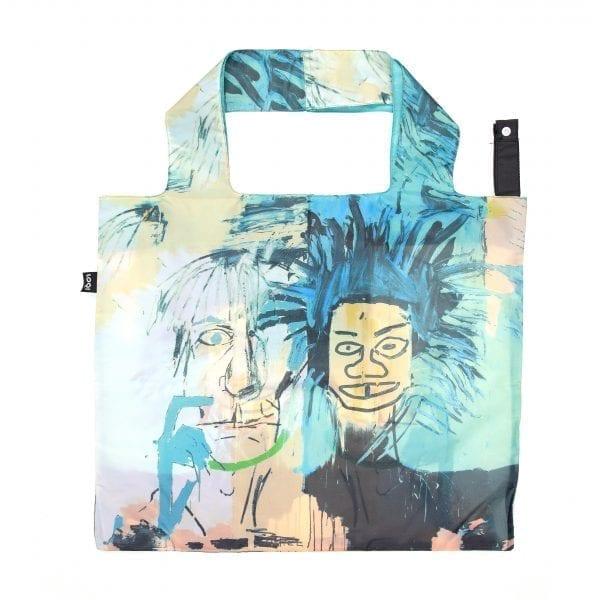 Loqi bag. Jean-Michel Basquiat - Warhol