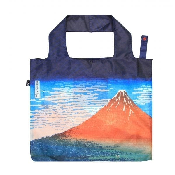 Loqi bag Red Fuji, Mountains in Clear Weather