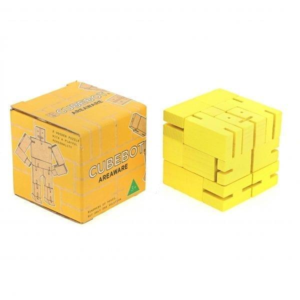 Cubebot Small Yellow
