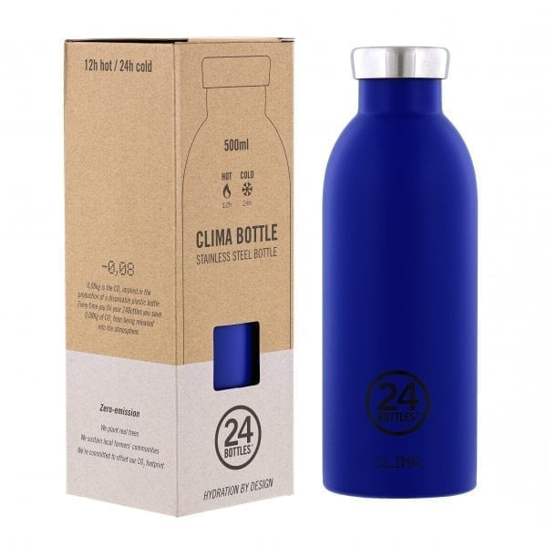 Clima Bottle Gold Blue