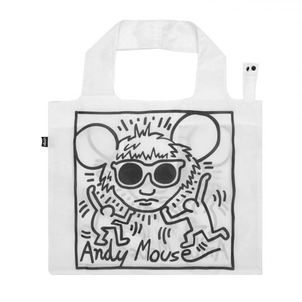 Loqi bag. Keith Haring - Andy Mouse