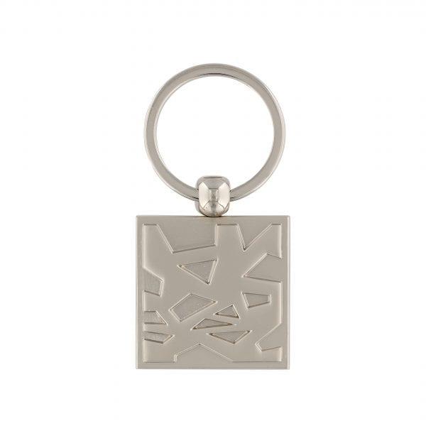 Louvre Abu Dhabi Silver Square Key chain