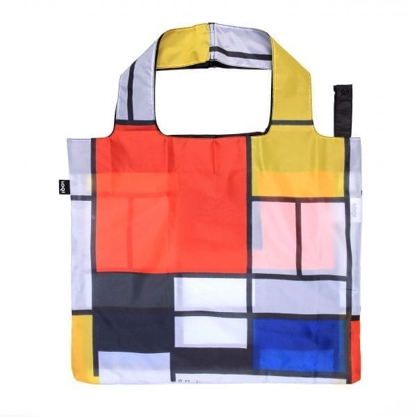 Loqi bag. Piet Mondrian - Composition with red, yellow, blue and black.