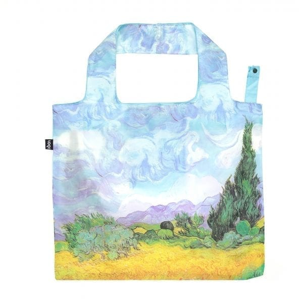 Loqi bag. Vincent Van Gogh - A wheat field with Cypresses