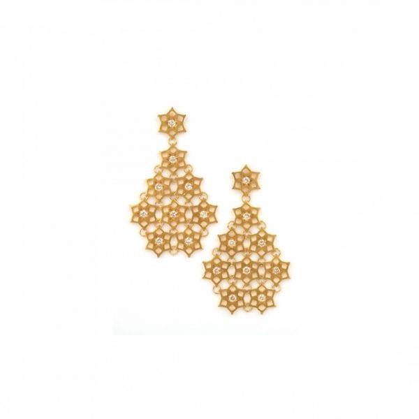 NounZein, Earrings Fatima Crystal