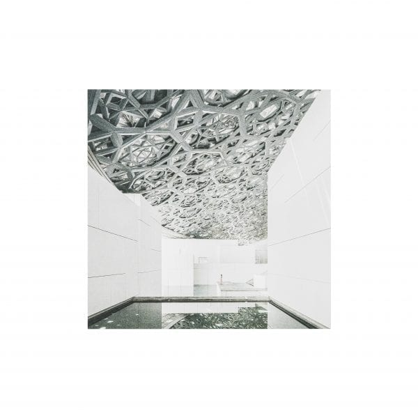 Postcard Under Louvre Abu Dhabi's Dome