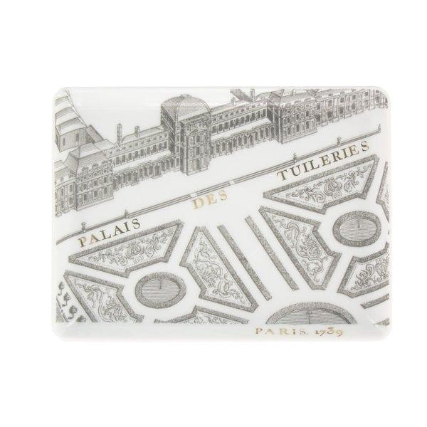 Rectangular plate Turgot Map of Paris