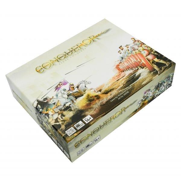 Strategy board game Conqueror Final Conquest