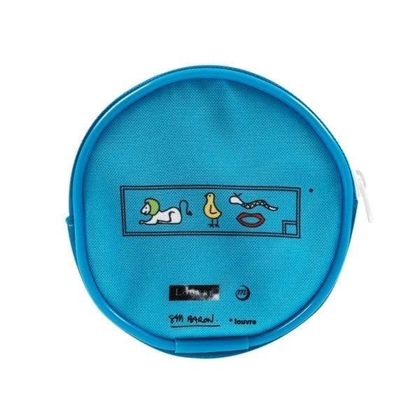 Wallet Blue Hippopotamus
