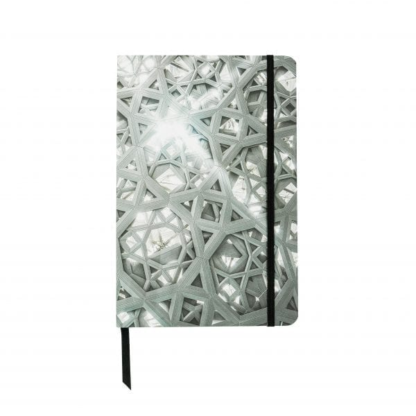 A5 Notebook with elastic Louvre Abu Dhabi's Rain of Light