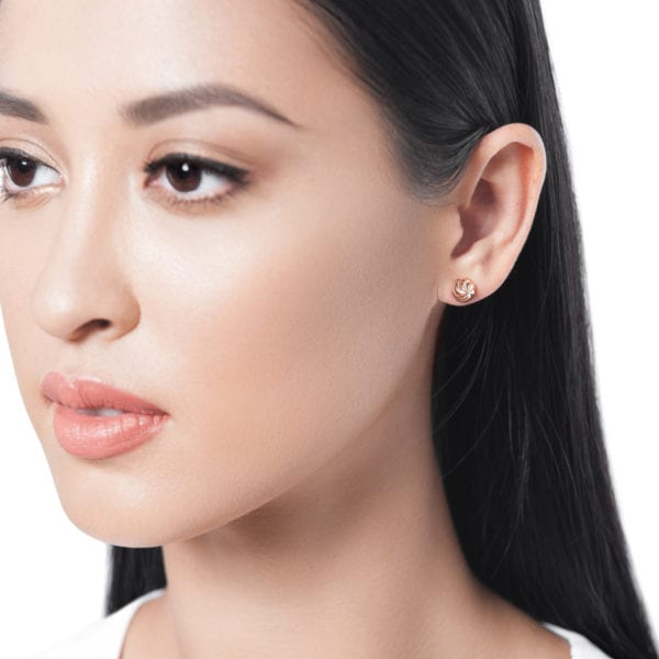 Merwad Gafla Stud Earrings