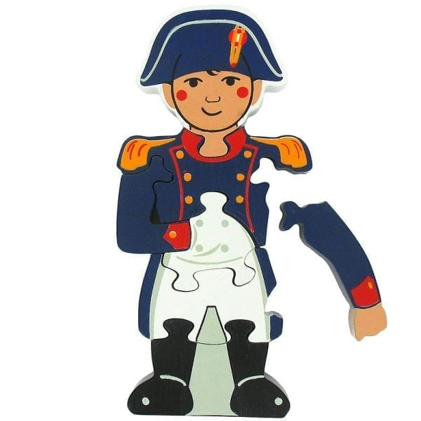 Napoleon shaped puzzle